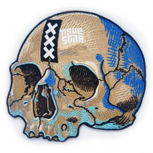 Dr.TiqueStars Mokum XL Skull Patch.