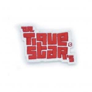 Dr.TiqueStars Red Logo Patch.